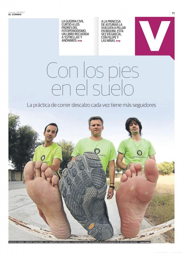 Correr descalzo: Con los pies en el suelo 1