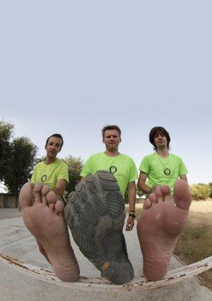 Zapatillas minimalitas y correr descalzo