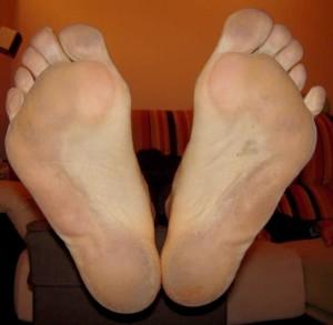 resultados de correr descalzo