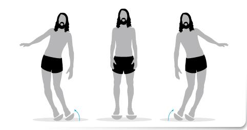Plan de transición, Ejercicio 2 plataforma inestable correr descalzo minimalista