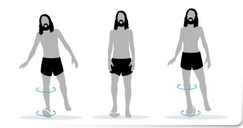 plan de transición,Ejercicio 3 una sola pierna plataforma inestable correr descalzo minimalista