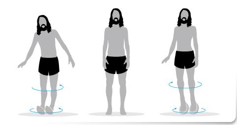 Plan de transición, Ejercicio 3 plataforma inestable correr descalzo minimalista
