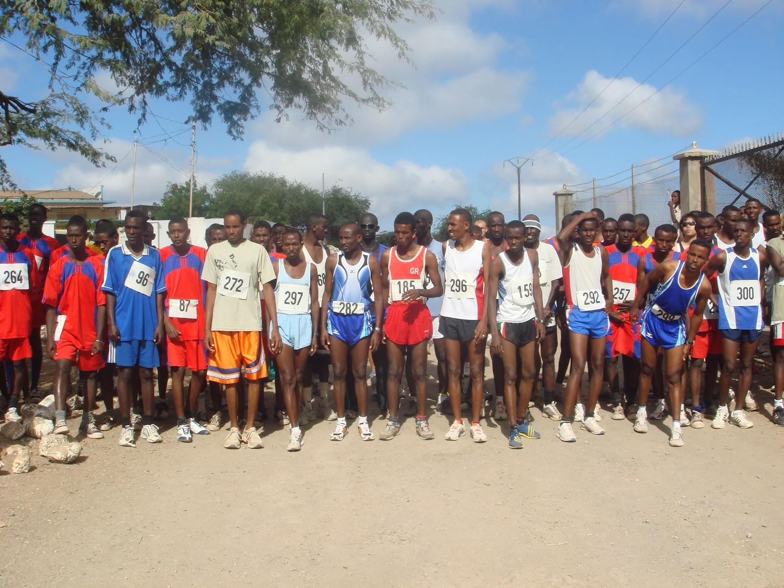 los keniatas corren en ayunas