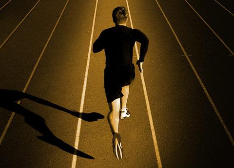 entrenamiento para la carrera