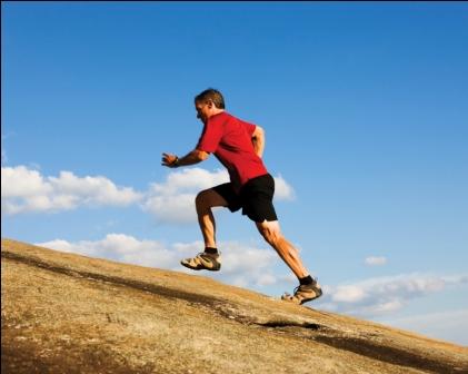 intervalos para entrenamiento de la carrera