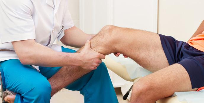 dolor de rodilla y frecuencia de zancada
