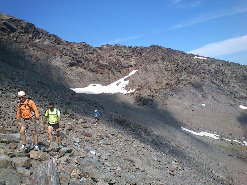 travesía Sierra Nevada 2013