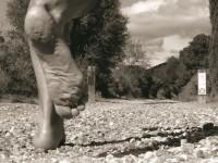 foto CORRER descalzo