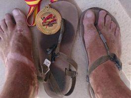 Correr sandalias Nunches Ruta de la Fortaleza