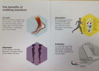 Los beneficios de andar descalzos