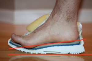 pies debiles drop o talon zapatillas
