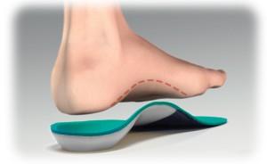pies con soporte de arco