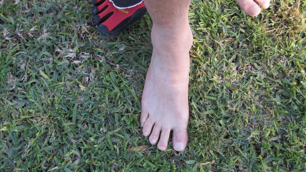 correr natural: Alineamiento dedos