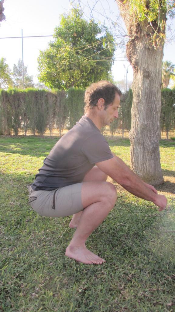 correr natural: Sentadilla-profunda
